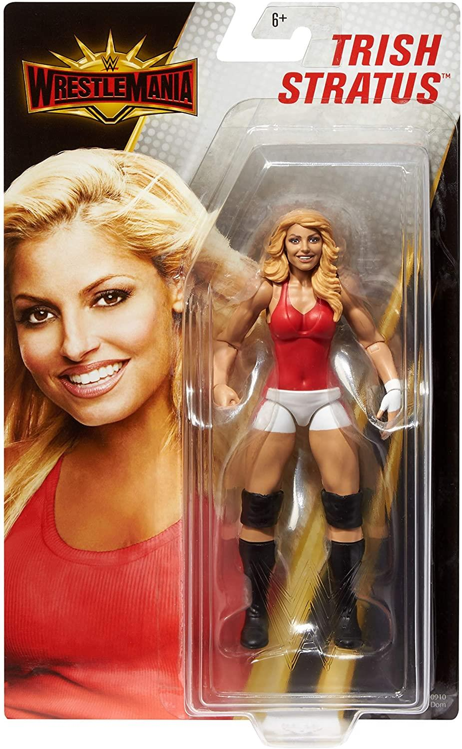 WWE WrestleMania Trish Stratus Wrestling Action Figure Articulated Detailed