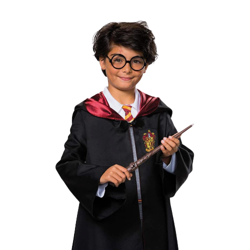 Harry Potter Wand and Glasses Kit Kids Costume Accessory Set