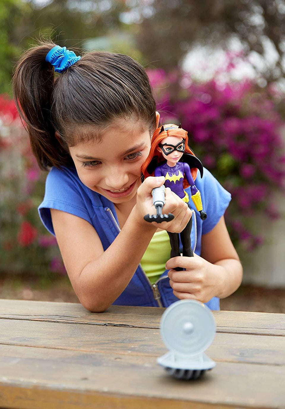 DC Super Hero Girls Blaster Action Batgirl Doll Mattel
