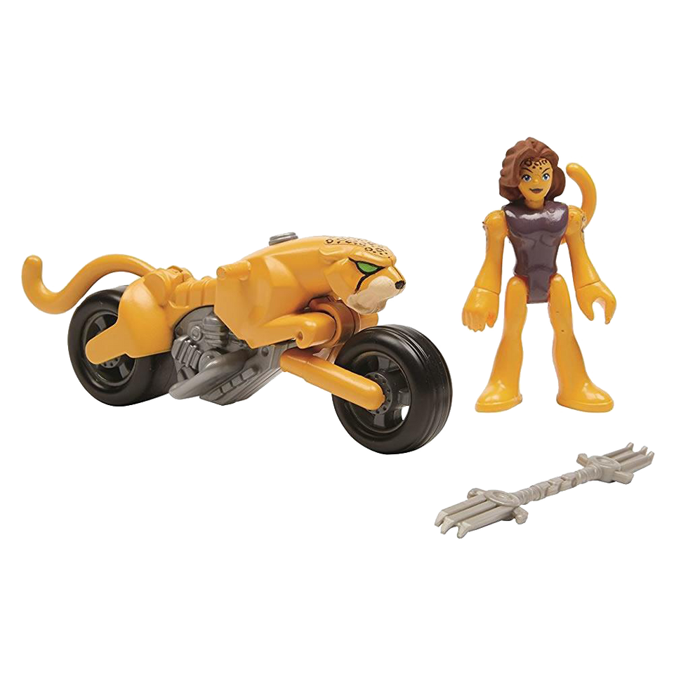 Imaginext Wonder Woman Cheetah & Cycle Action Figures Fisher-Price