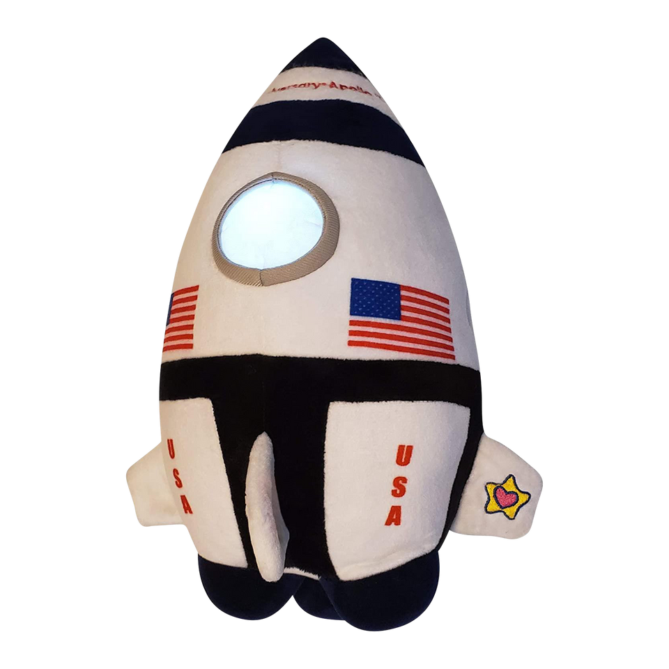 Neil The Rocket Apollo 11 USA 50th Anniversary Limited Edition Night Light Plush Buddies