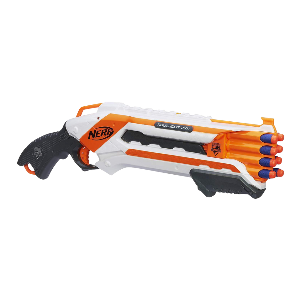 Nerf N-Strike Elite Rough Cut Blaster 2x4 Dart Shooter