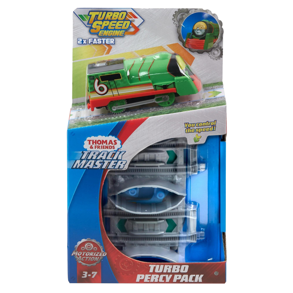 Thomas & Friends TrackMaster Percy the Train Turbo Thomas Pack