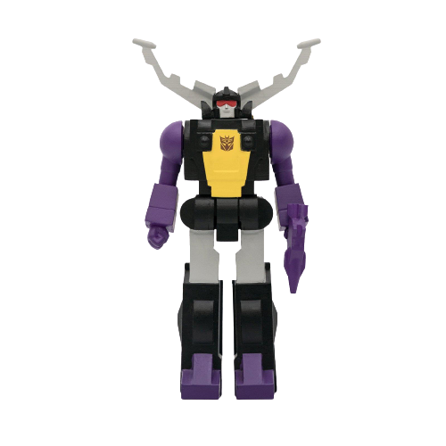 Transformers ReAction Wave 2 Shrapnel Action Figure - Articulated (Retro)