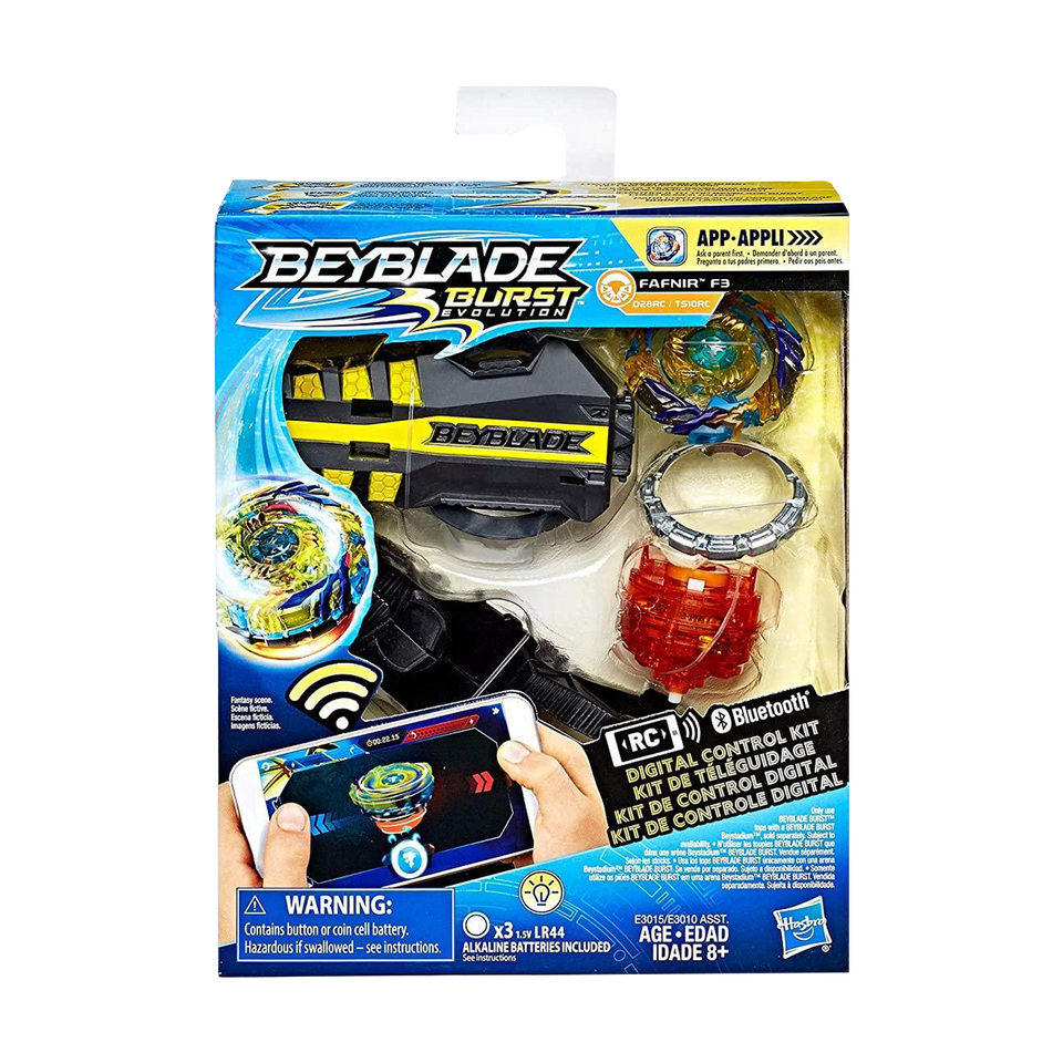 Beyblade Burst Evolution Digital Control Kit Fafnir F3