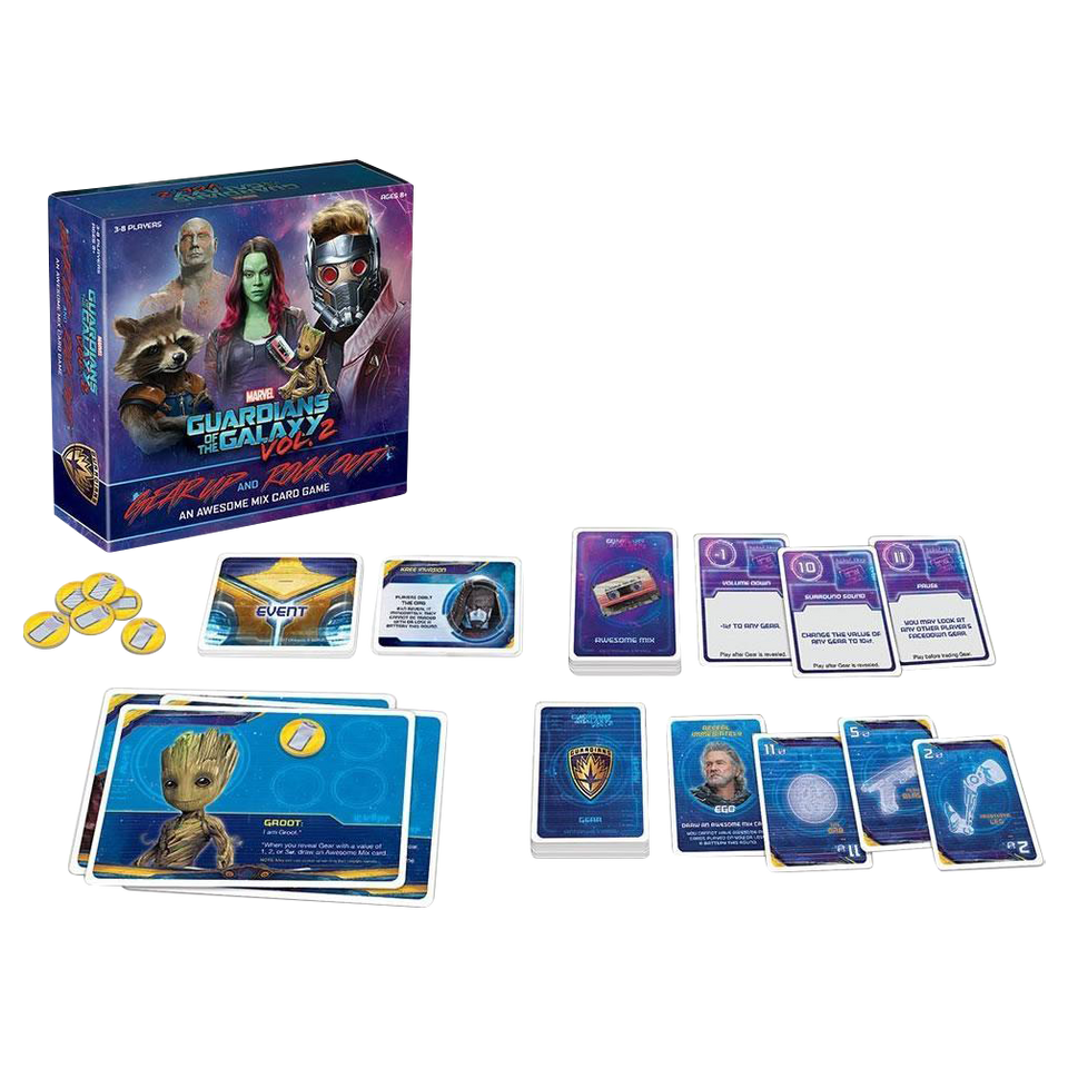 Guardians of the Galaxy Awesome Mix Vol 2 Card Game Gear Up n' Rock Out USAopoly CG011-466