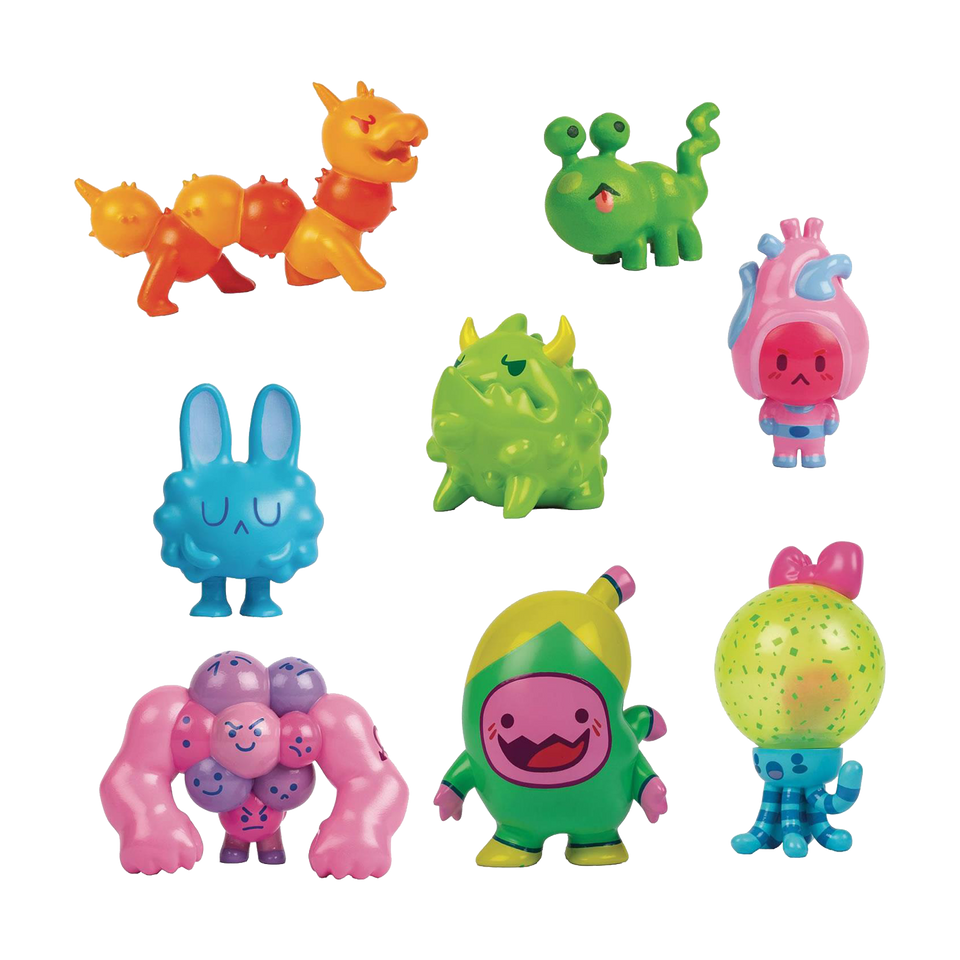 Organauts Figures 3-Pack Series 1 Blind Boxes Bio Heroes