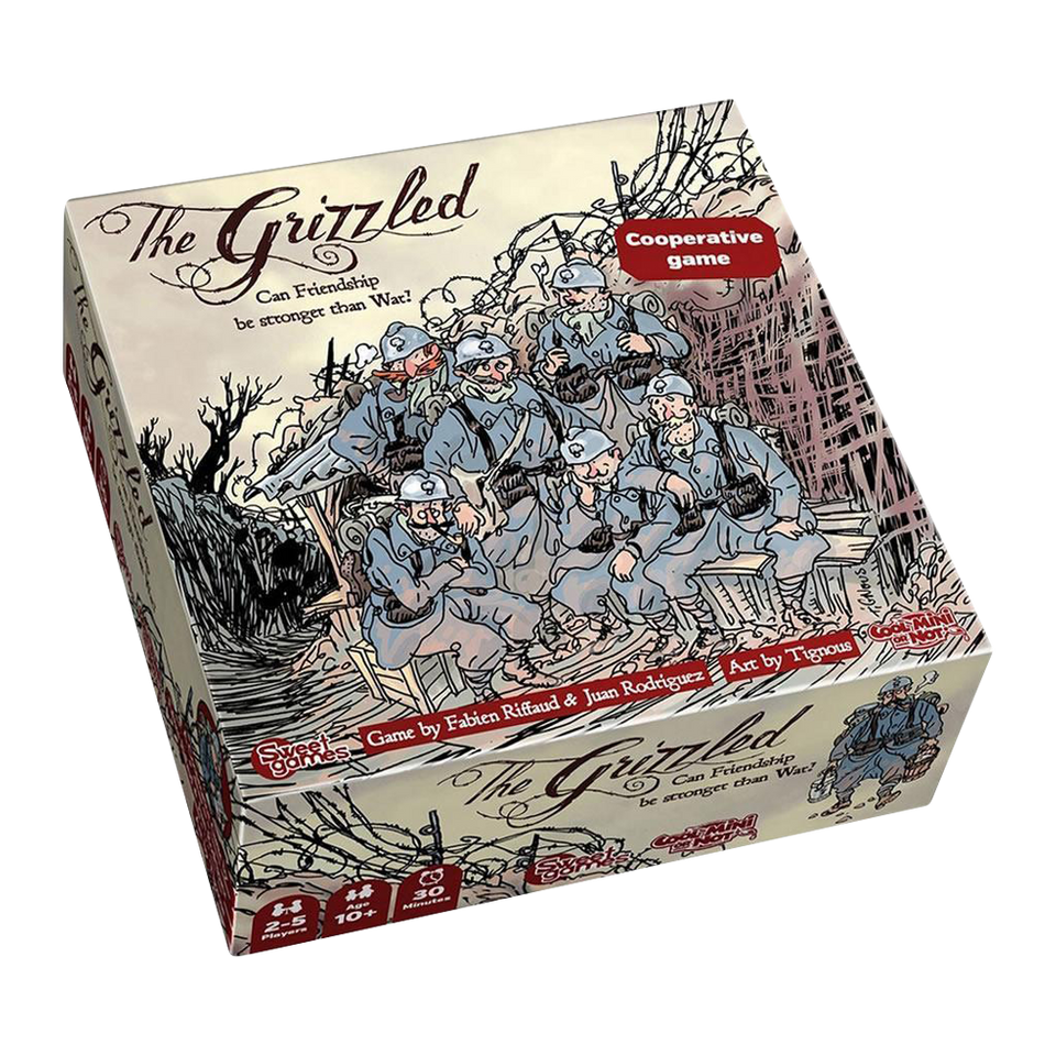 The Grizzled Cooperative Card Game WWI War Peace Strategy