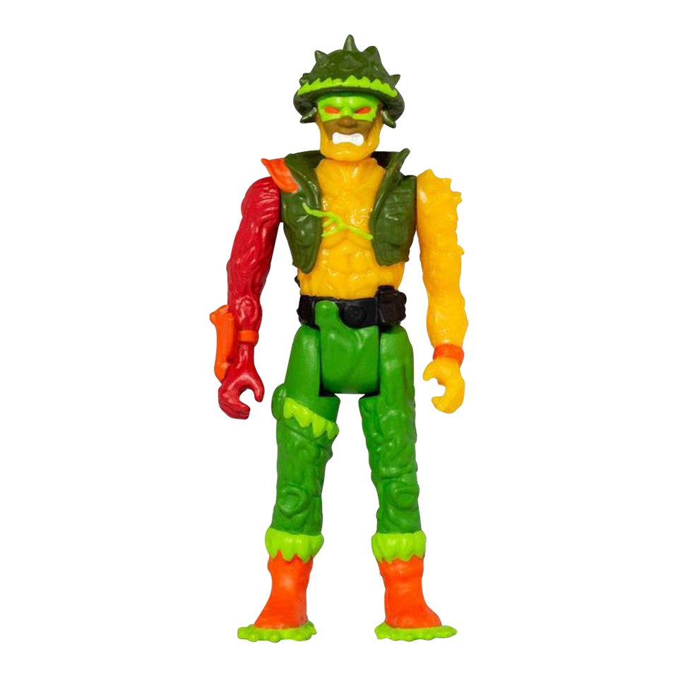 Major Disaster Reaction Action Figure Toxic Crusaders Retro Super7