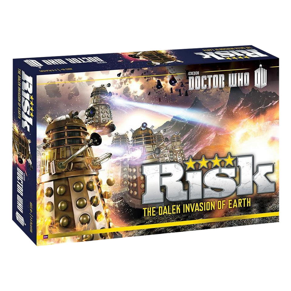 Risk: Doctor Who Edition Dalek Armies Invasion of Earth BBC Battle