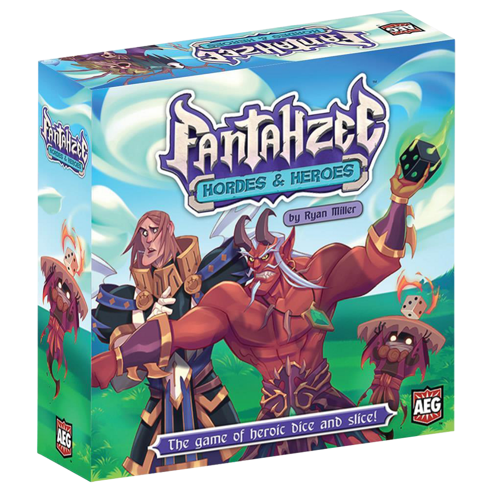 Fantahzee Hordes & Heroes Board Game Ryan Miller Defeat Boss Monsters