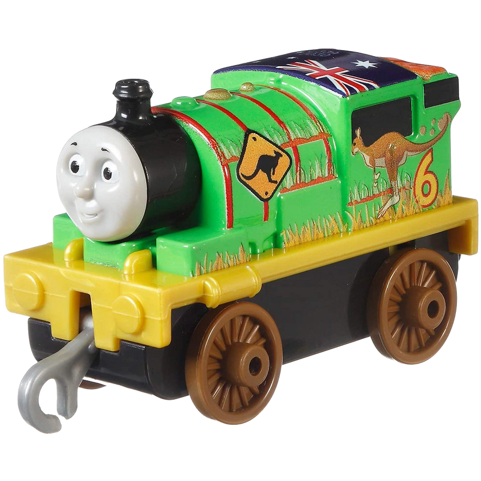 Thomas & Friends Around The World Push Along 4-Pack Detailed