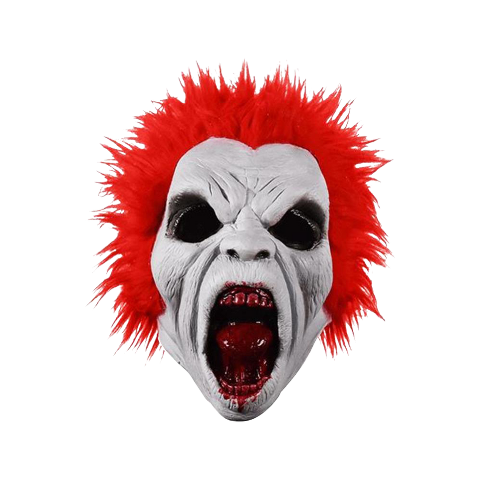 Return of the Living Dead Trash Mask Red Hair Zombie Trick Or Treat Studios