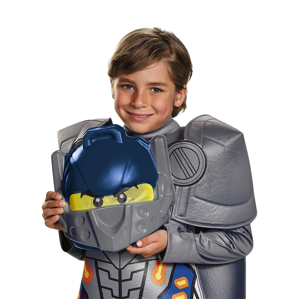 Lego Nexo Knights Clay Prestige Deluxe size S 4/6 Boys Costume Disguise