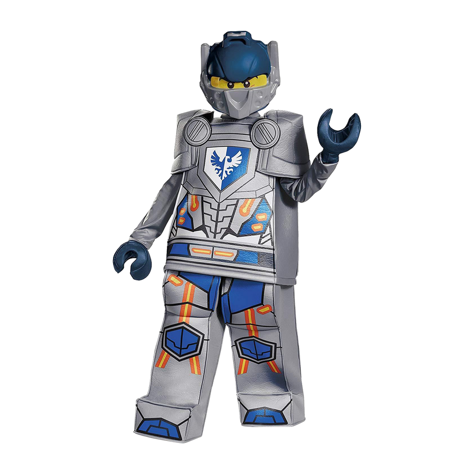 Lego Nexo Knights Clay Prestige Deluxe size M 7/8 Boys Costume Disguise