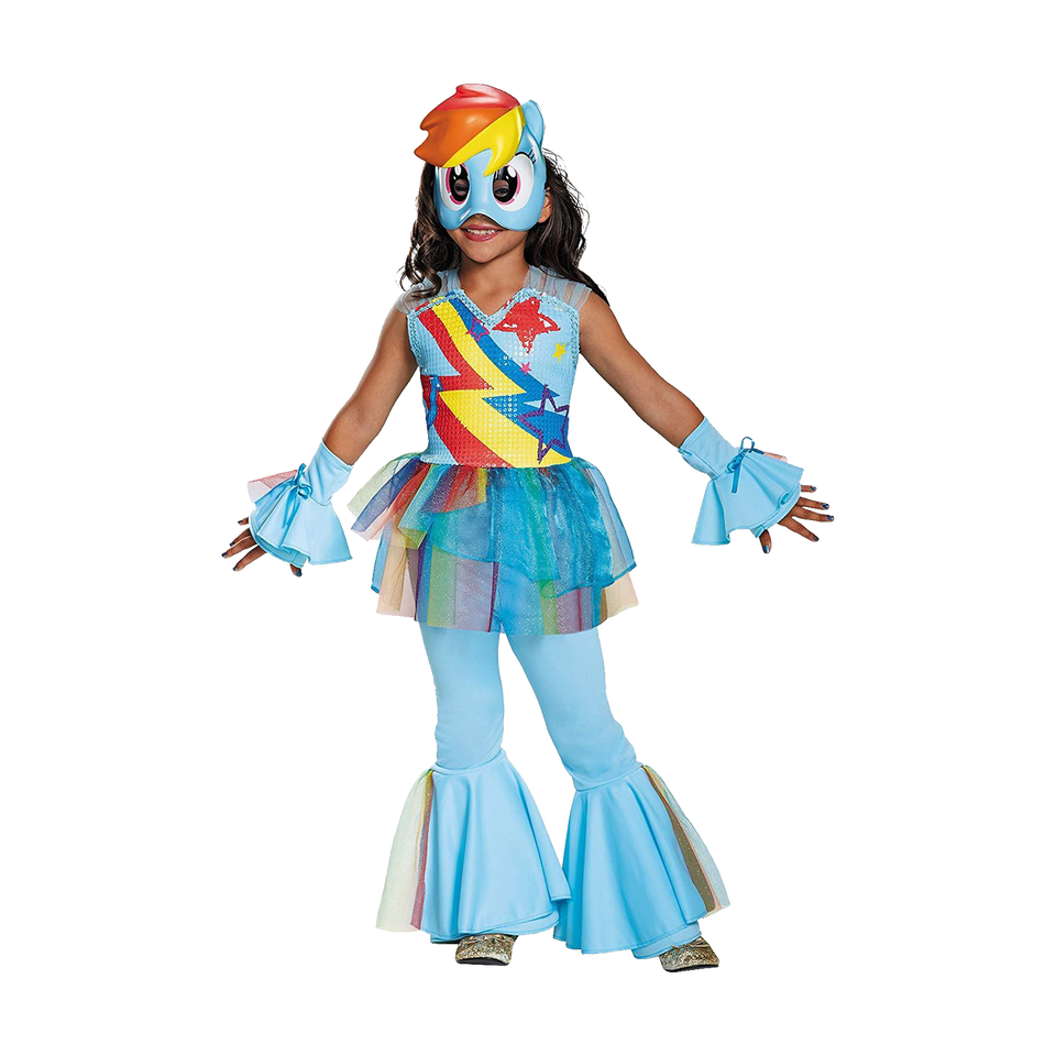My Little Pony Rainbow Dash MLP Licensed Costume - X-Small (2T/4T)