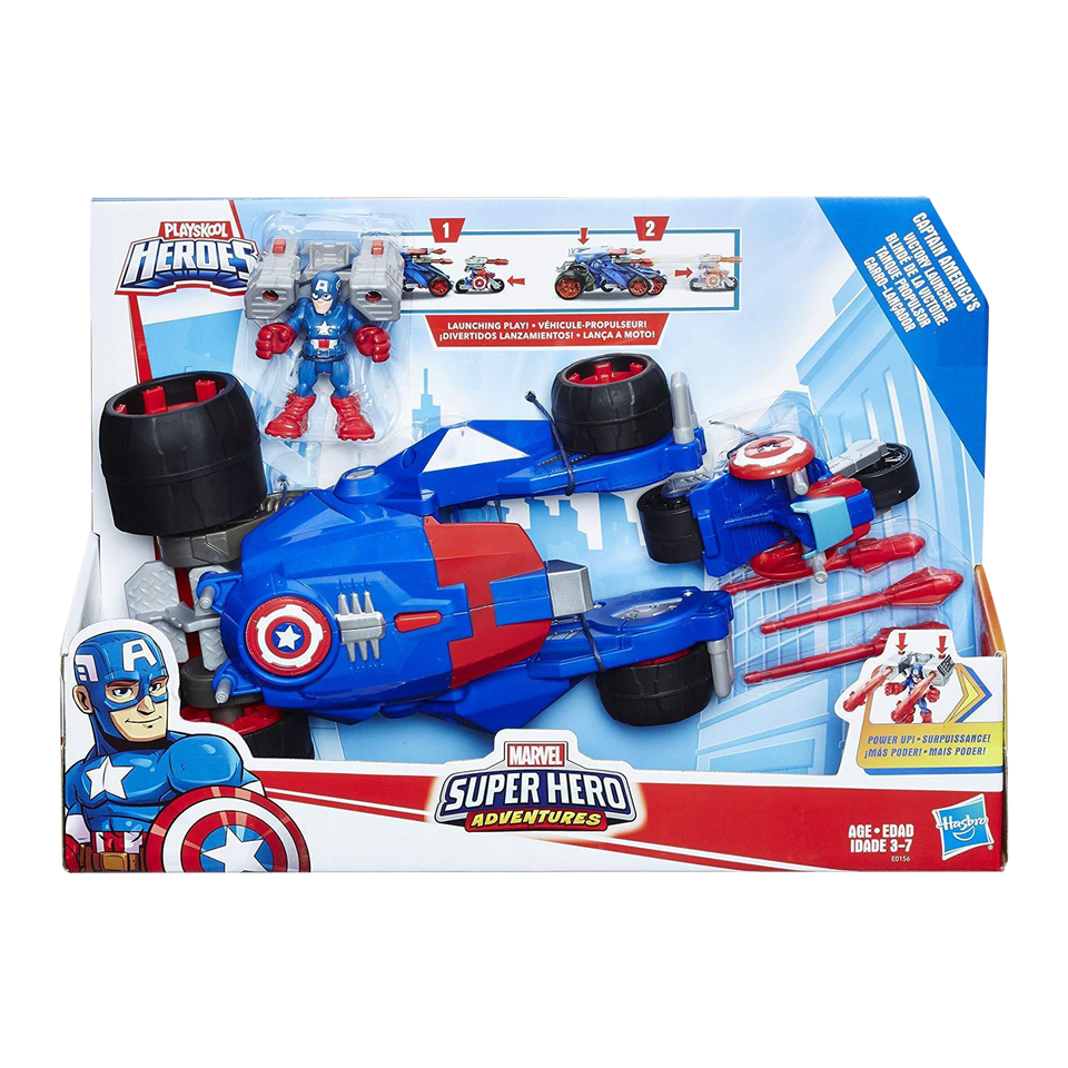 Playskool  Marvel's Captain America's Super Hero  Victory Launcher