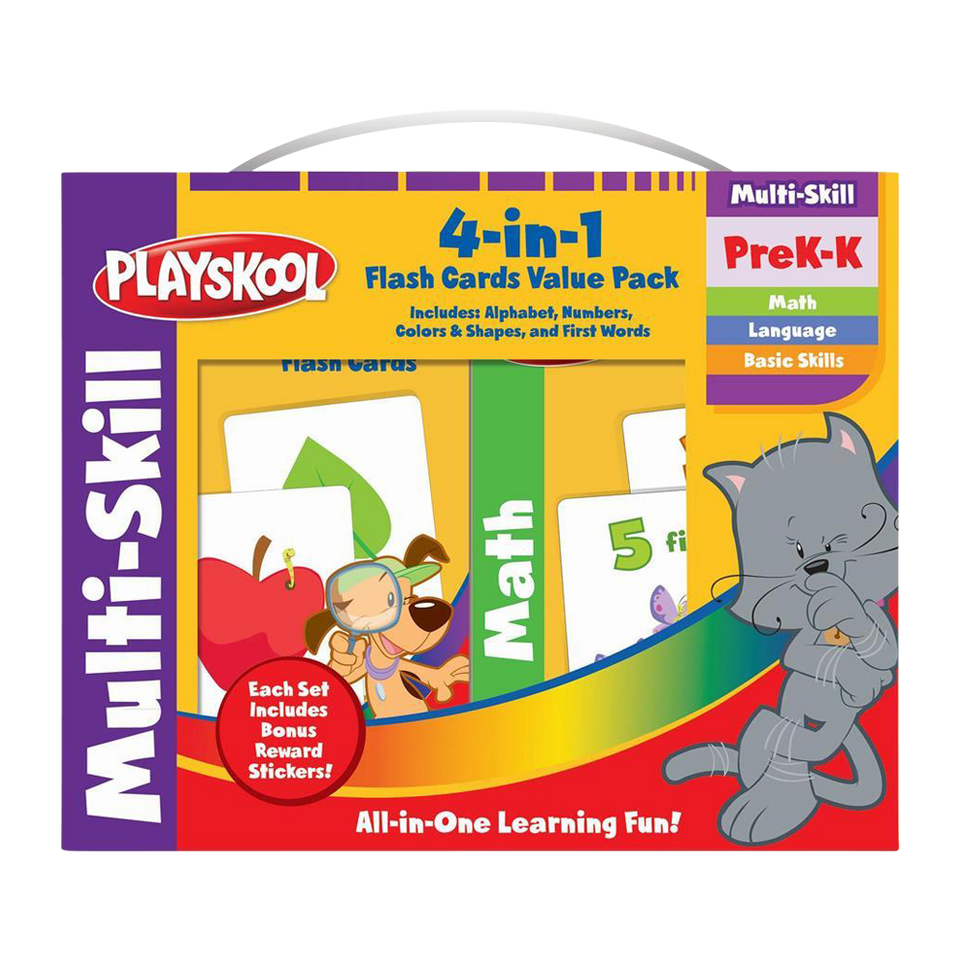 Playskool Flash Cards Set (PreK-K Multi-Skill)