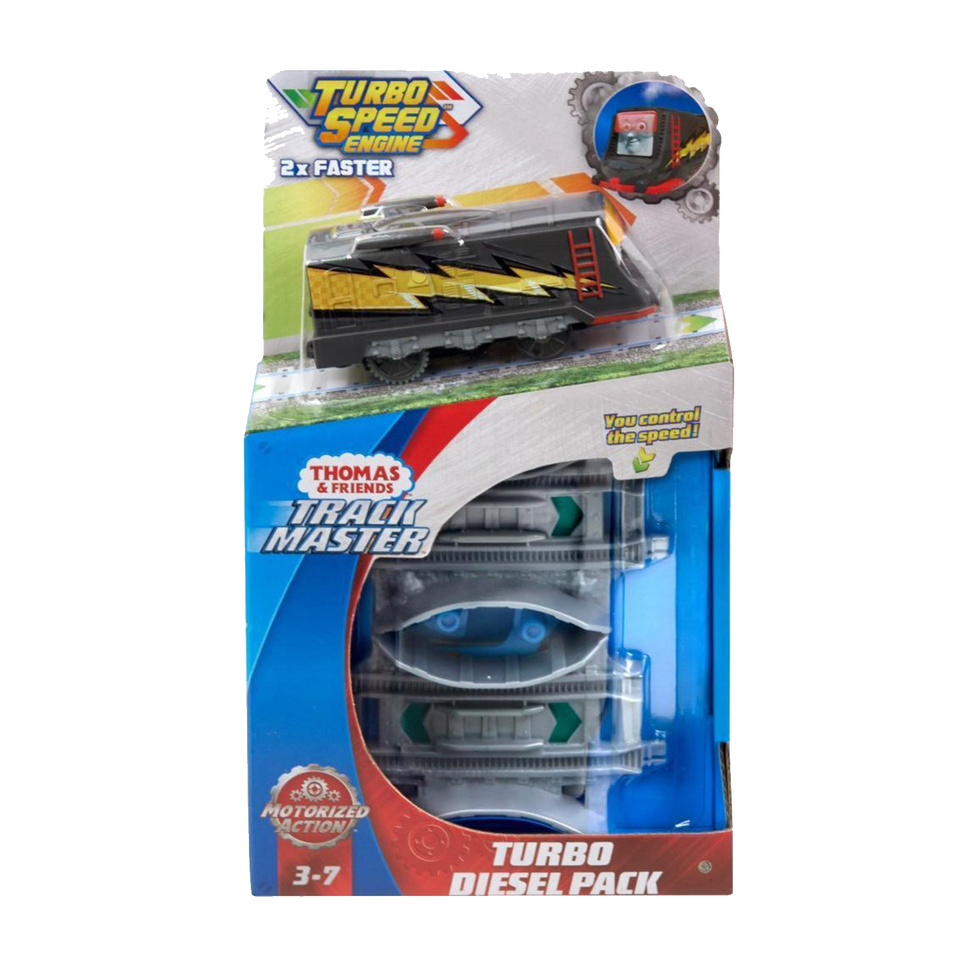 Thomas & Friends TrackMaster Diesel the Train Turbo Thomas Pack