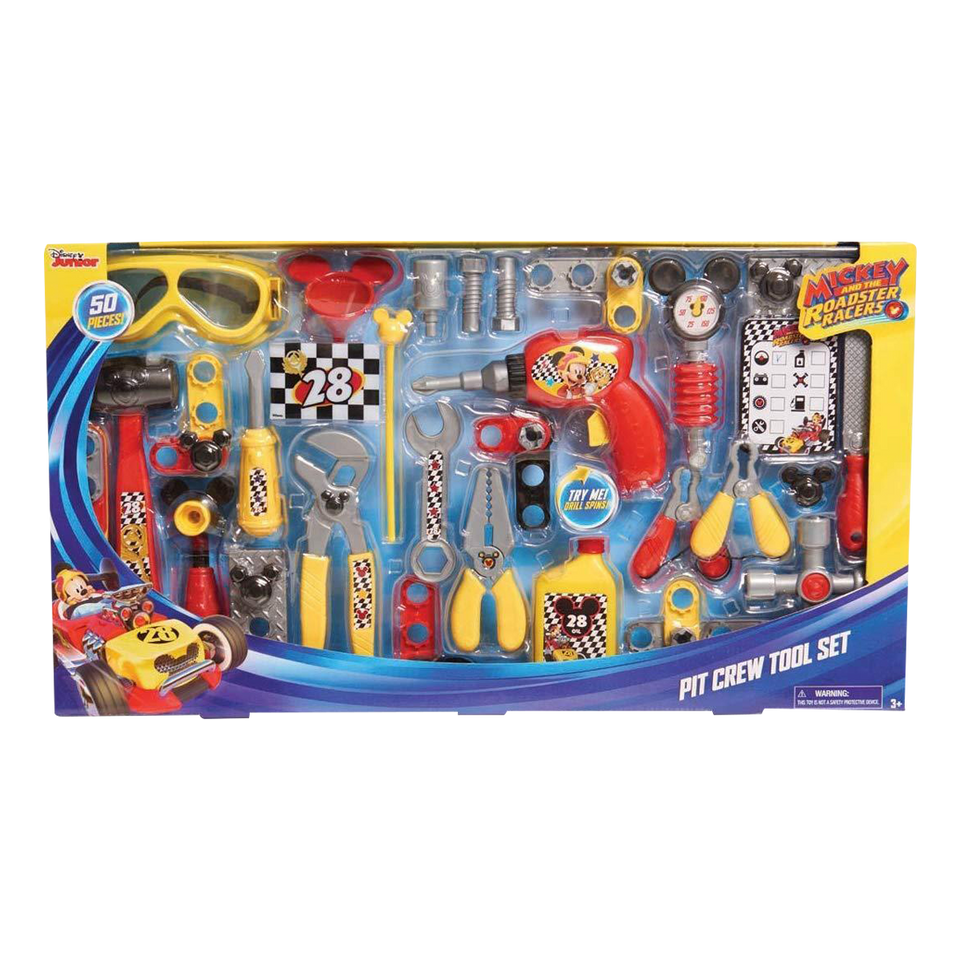 Mickey The Roadster Racers Tool Set Disney Junior Pit Crew