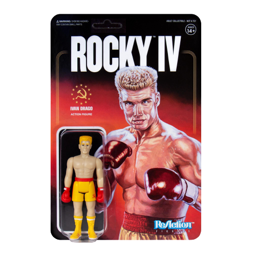 Rocky IV Ivan Drago Reaction Action Figure -  Articulated (Retro)