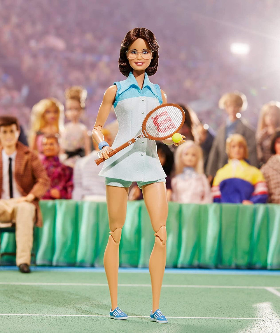 Barbie Billie Jean King Inspiring Doll Tennis Icon Equality Champion