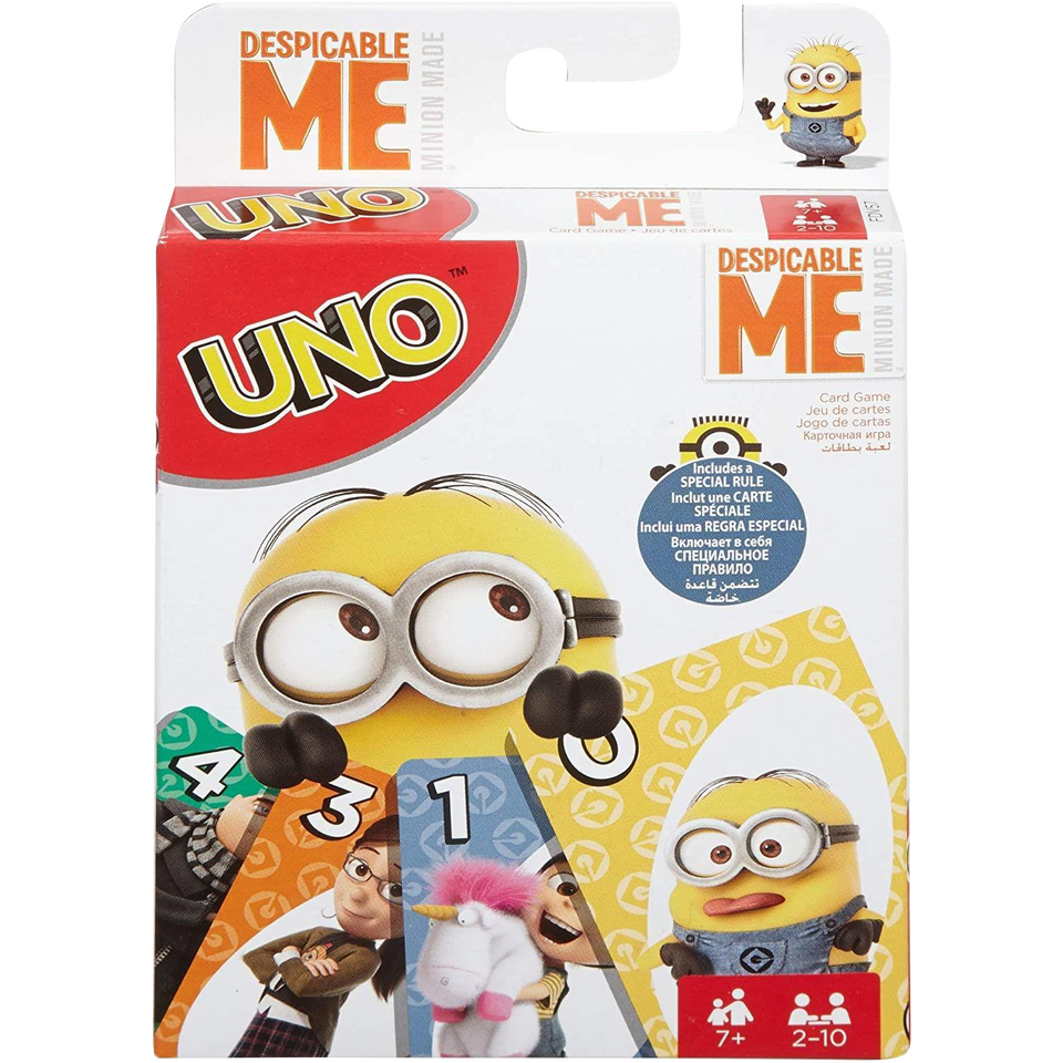UNO Despicable Me Card Game Mattel