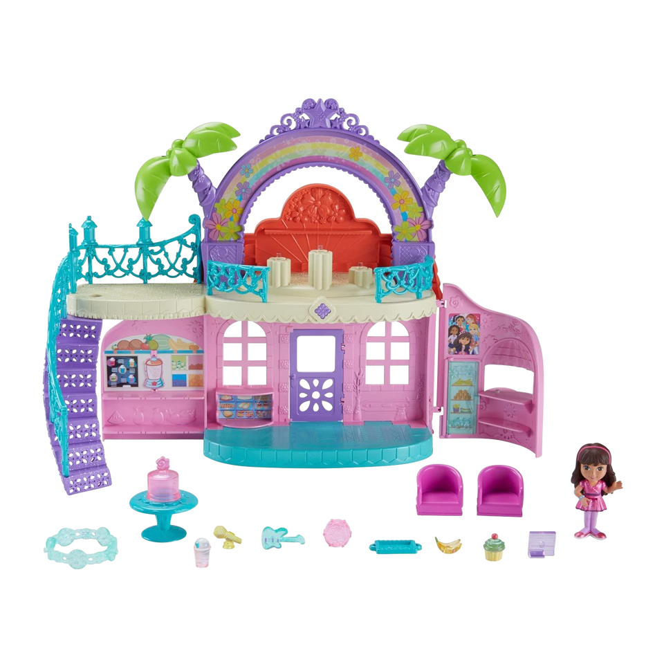 Nickelodeon Dora and Friends Cafe Playset Interactive Fisher-Price