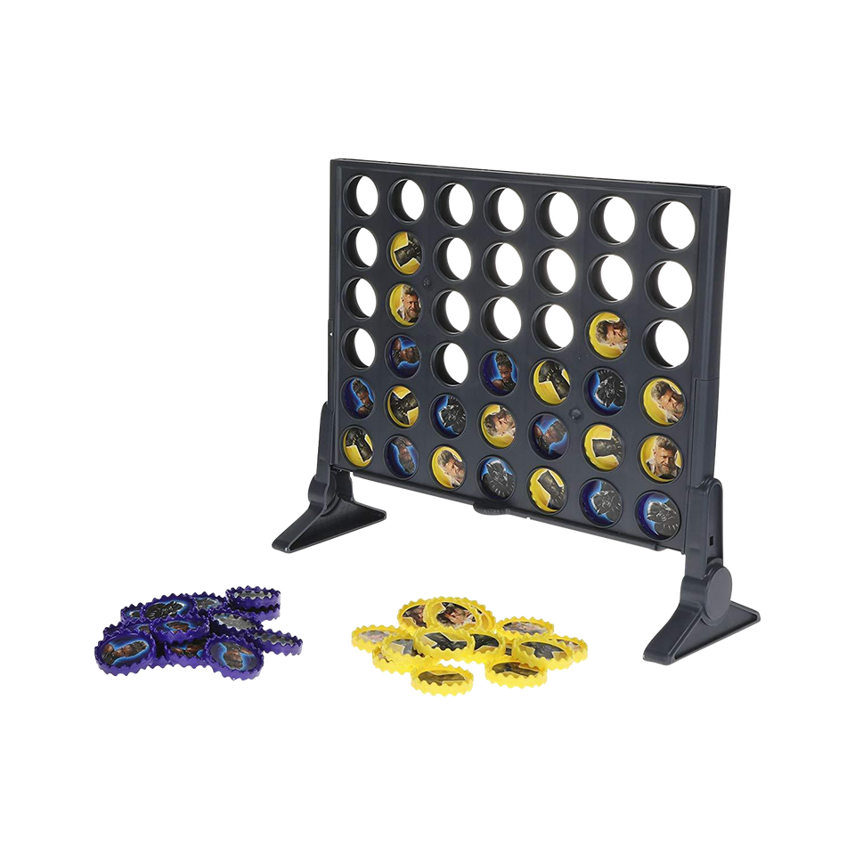 Hasbro Connect 4: Black Panther Edition Wakanda Game