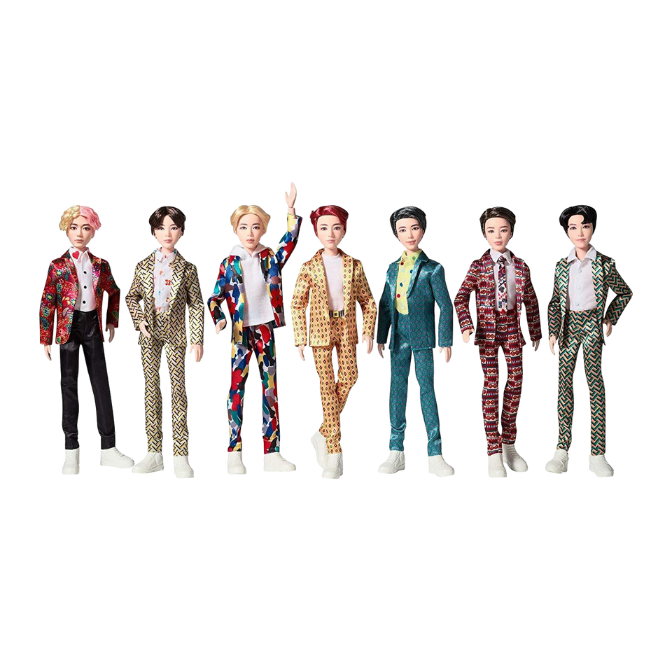 BTS Idol Doll 7-Pack Giftset