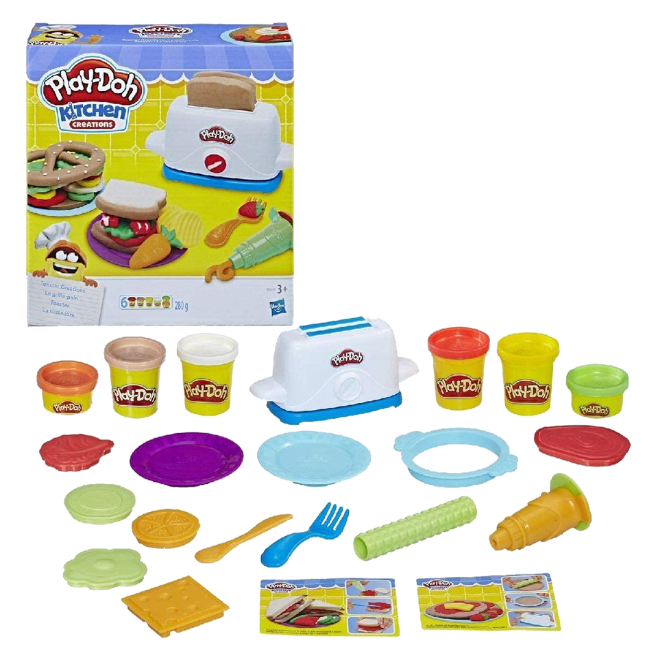 Play-Doh Kitchen Toaster Creations Playset