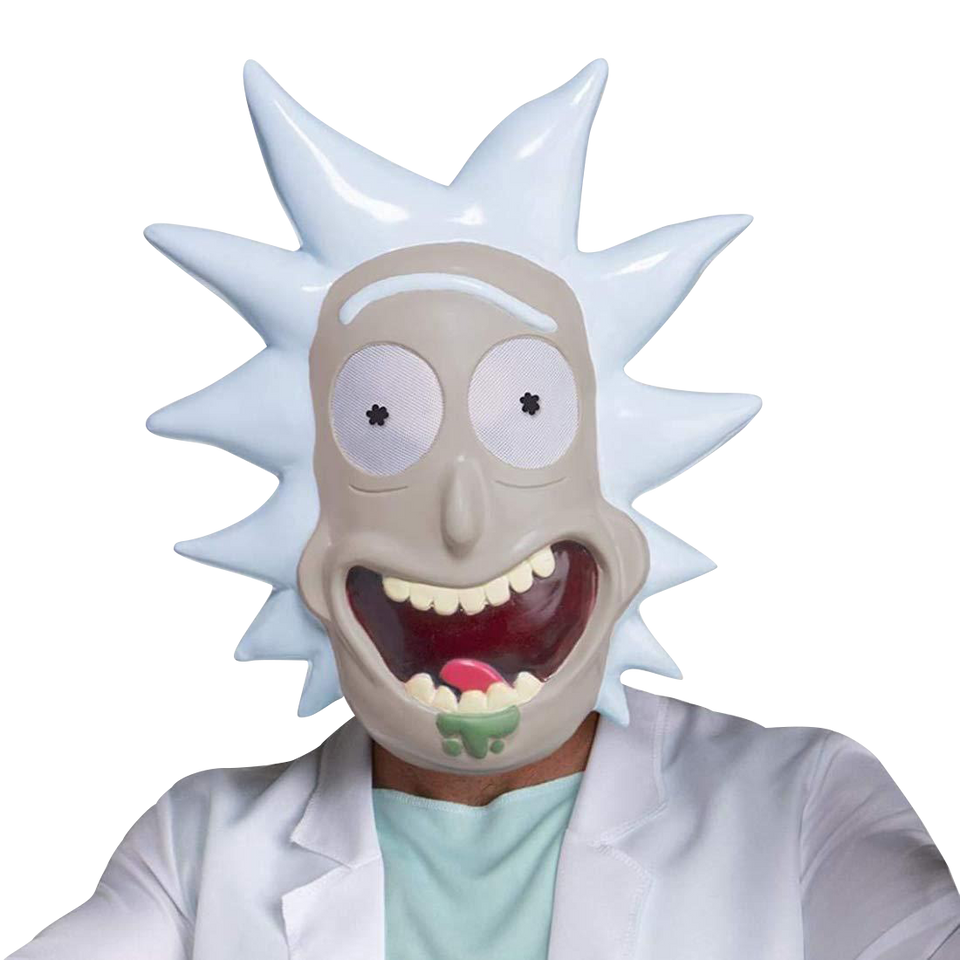 Rick and Morty: Rick Mask Licensed Costume Accessory Adult Swim Cartoon