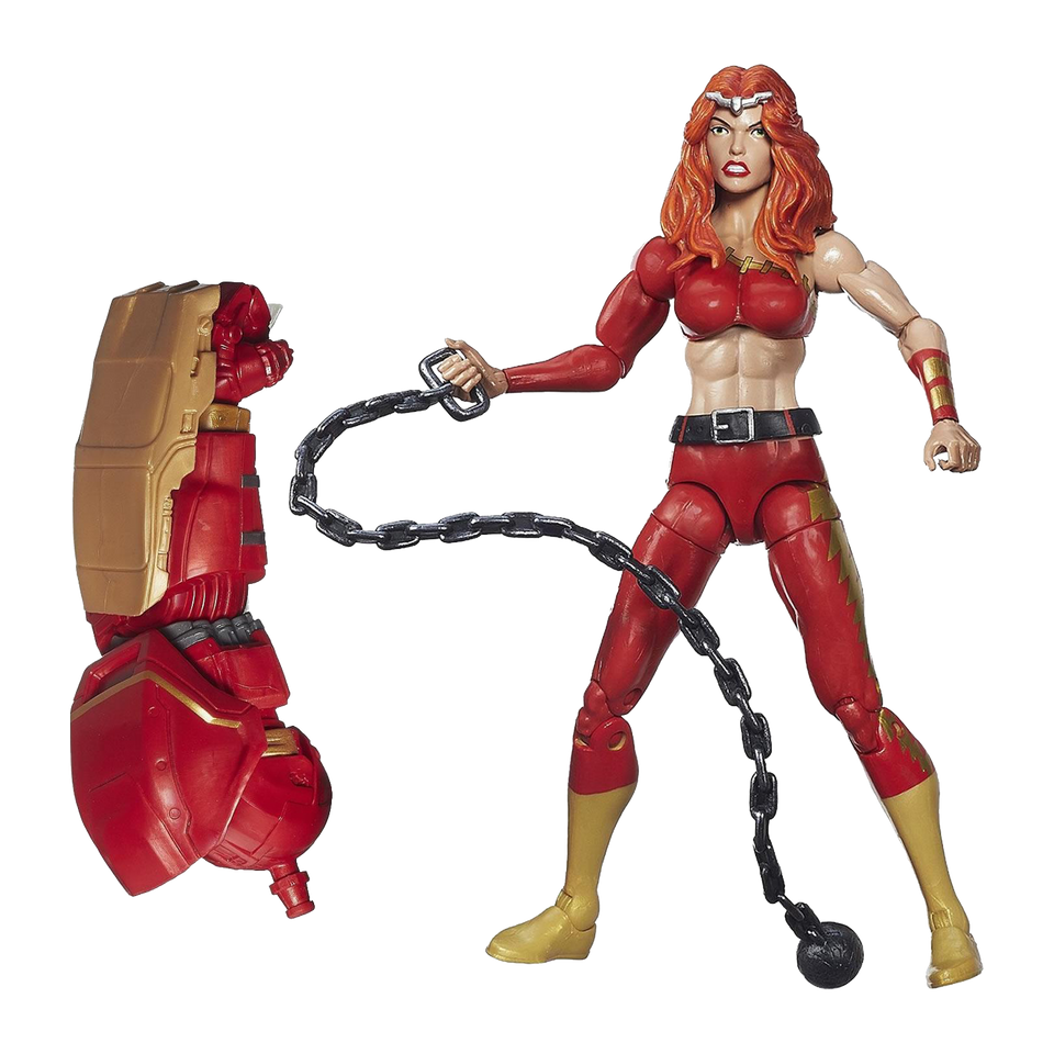Marvel Legends Infinite Series: Fearless Defenders Thundra Action Figure Toy Hasbro B2989AS0