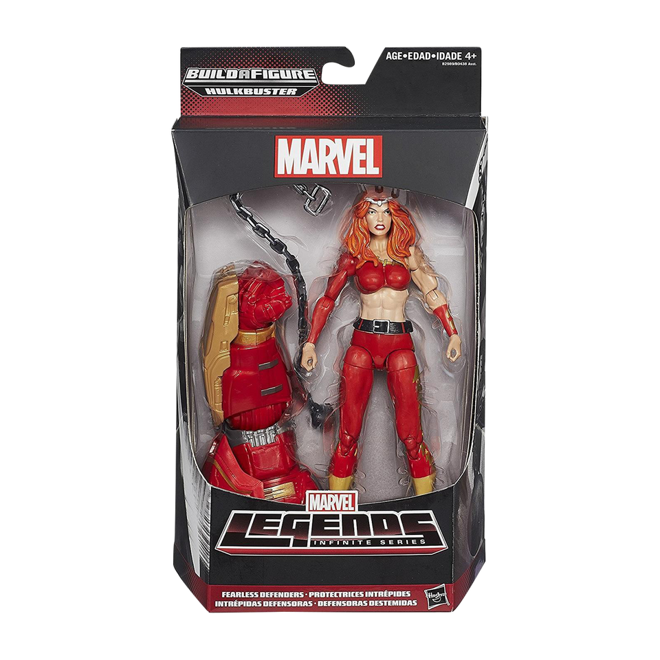 Marvel Legends Infinite Series: Fearless Defenders Thundra Action Figure Toy