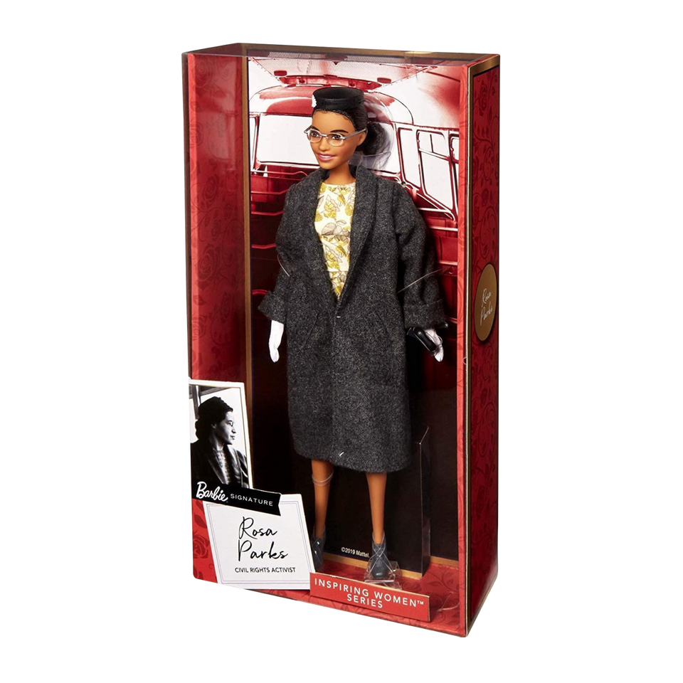 Rosa Parks Barbie Doll Civil Rights Women's Movement Collectible
