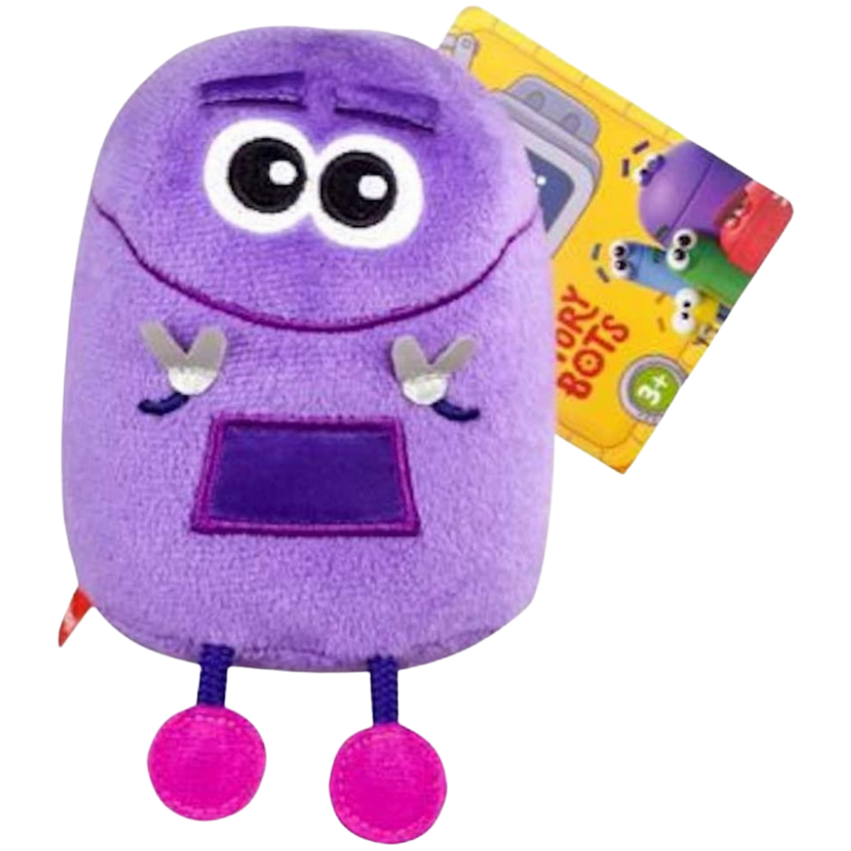 Story Bots Shapes Bo Talking Plush Netflix Mini Squeeze Interactive Doll