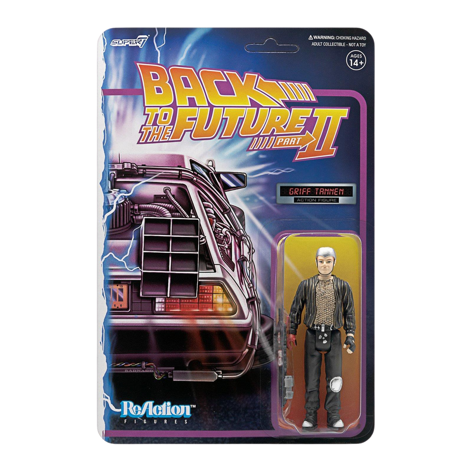 Back to the Future Part II Griff Tannen Reaction Figure - Articulated (Retro)