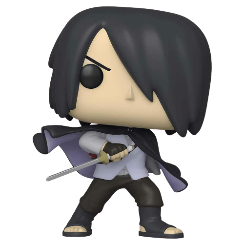 Boruto Sasuke Uchiha with Cape Collectable Vinyl Figure