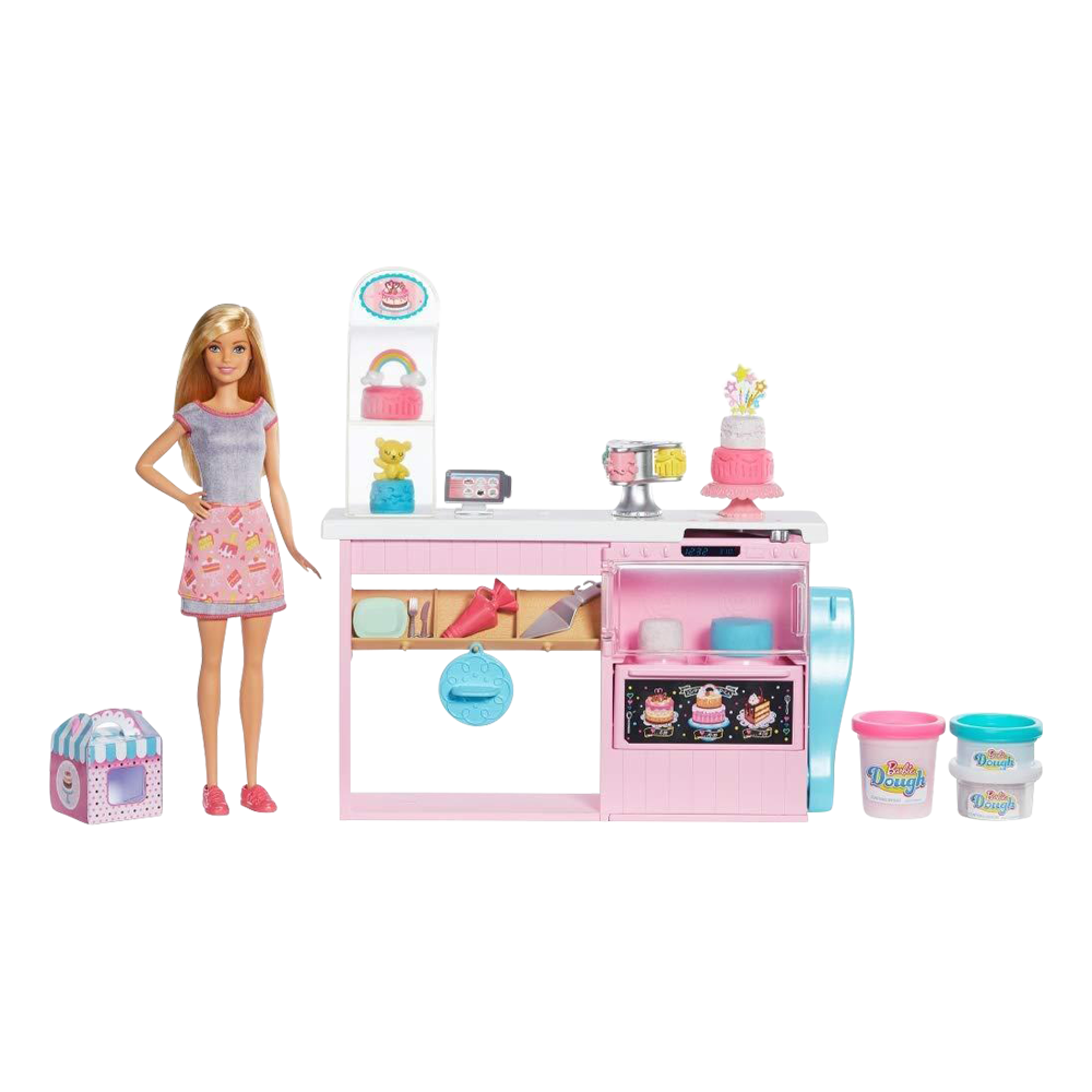 Barbie Cake Decorating Bakery Playset Archies Toys