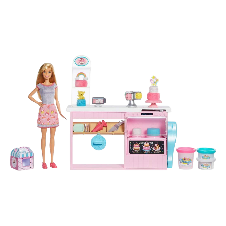 Barbie Cake Decorating Bakery Playset