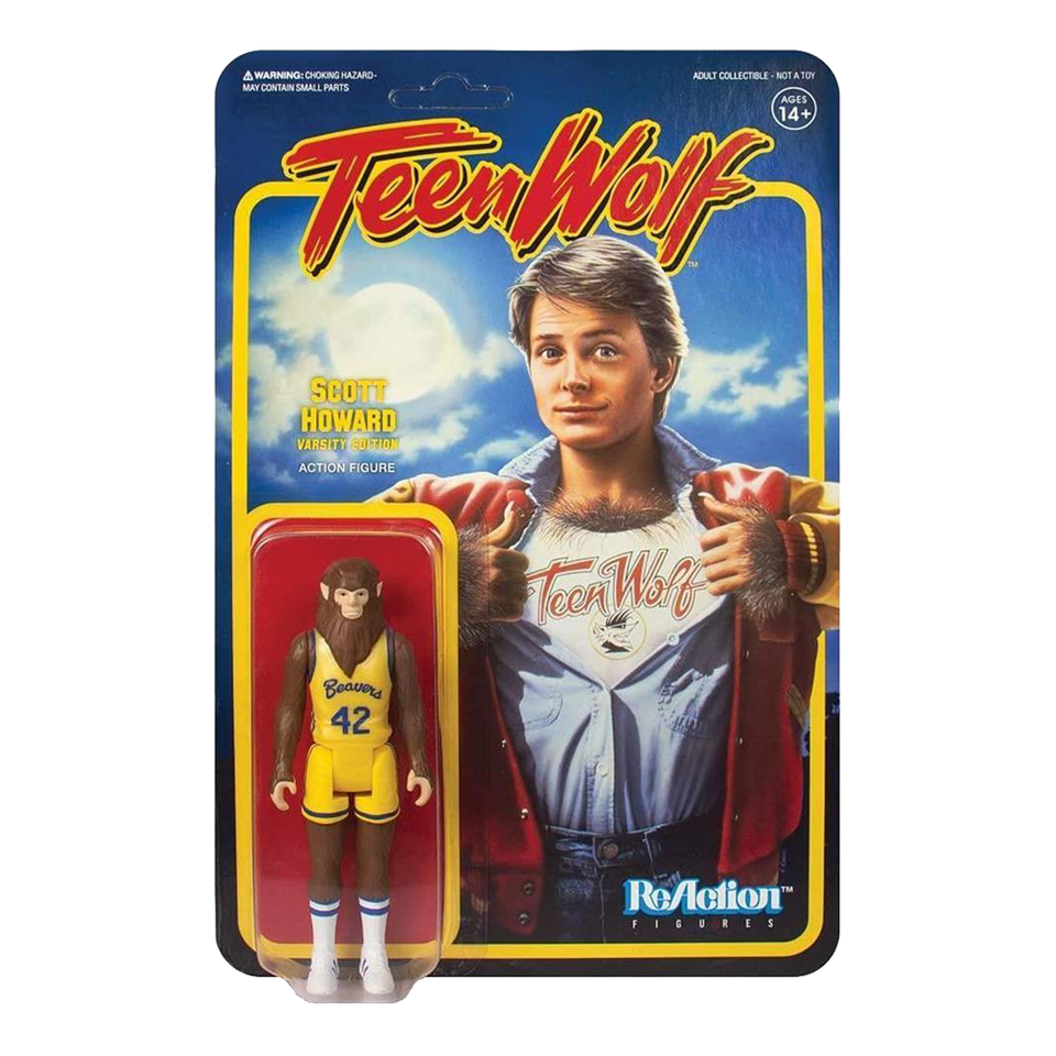 Teen Wolf Basketball Uniform Figure Reaction Werewolf Super7