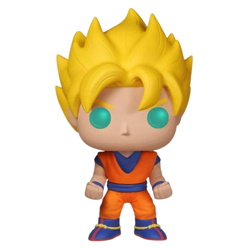 Anime Dragonball Z Super Saiyan Goku Glow In The Dark Exclusive Figure
