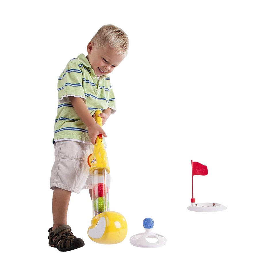 Little Tikes Clearly Sports Golf Club & Colorful Balls 630682MAZ