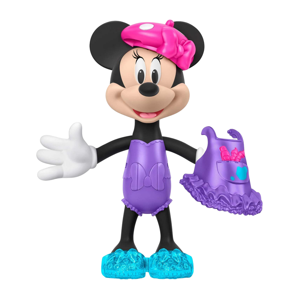 Disney Artist Minnie Mouse Snap n Pose Fashion Doll Fisher-Price