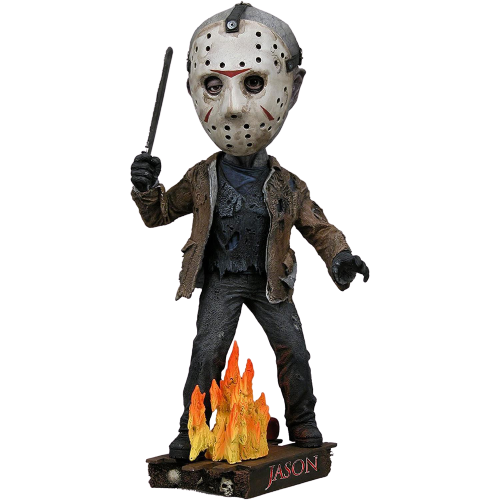 Freddy vs Jason Head Knocker: Jason Voorhees Figure