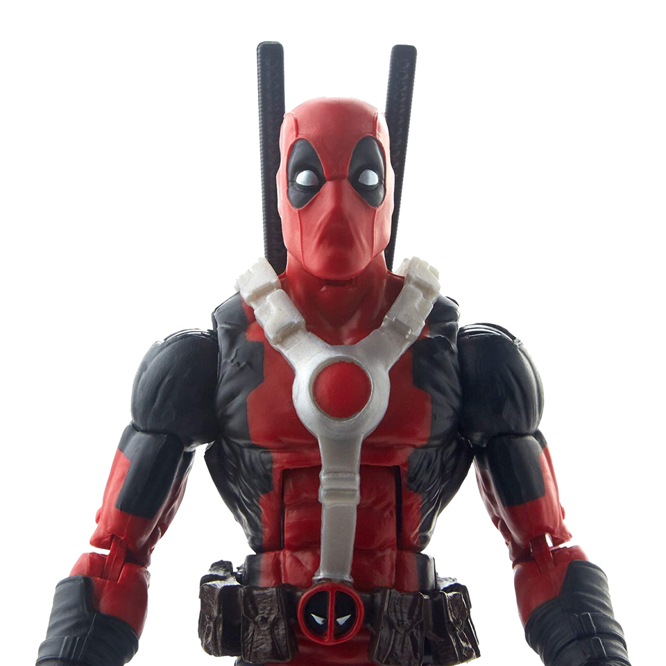Marvel Deadpool & Scooter Legends Figure Articulated Corps Series Hasbro
