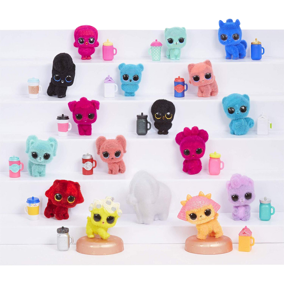 MGA L.O.L. Surprise! Fuzzy Pets Washable Fuzz & Water Surprises LOL
