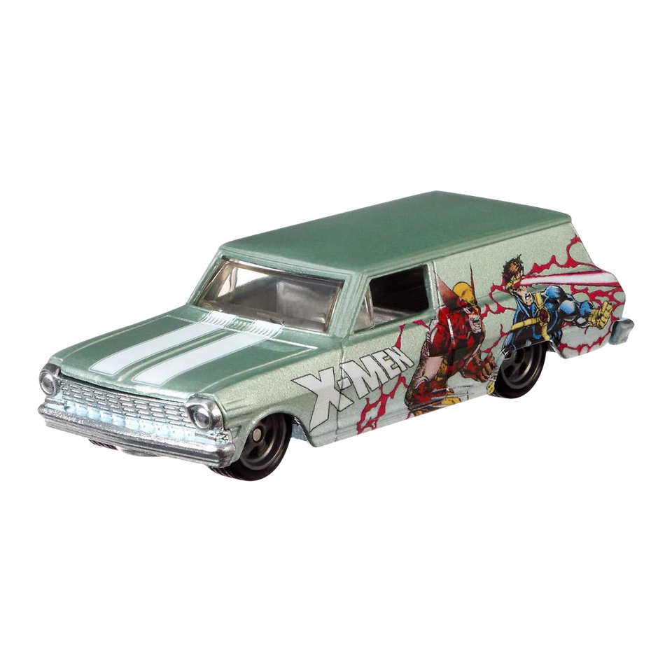 Hot Wheels '64 Chevy Nova Delivery Car X-Men Premium Rider