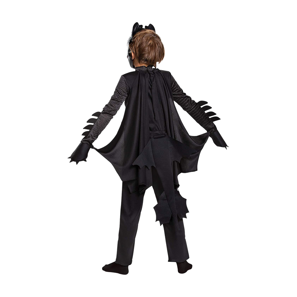 How to Train Your Dragon Toothless Deluxe Kids Costume - X-Small (3T/4T)