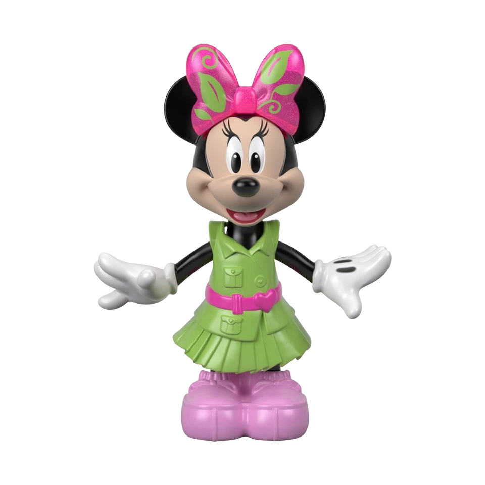Disney Minnie Camping Figure Snap n Pose Fashion Doll